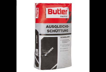 Ausgleichschüttung bitumenummantelt, Körnung 0-6 mm von Butler macht's!
