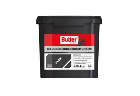 Bitumendickbeschichtung 2K Flex 30 l von Butler macht's!