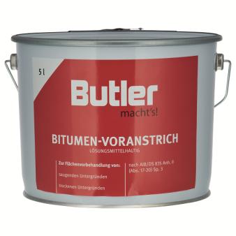 Bitumen-Voranstrich lösemittelhaltig 5 l von Butler macht's!