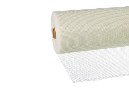 Innenputzgewebe weiß, 70 g/m², Rolle 1 x 100 m, Maschenweite 5 x 5 mm von Butler macht's!