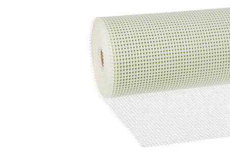 Außenputzgewebe Premium weiß, 210 g/m², Rolle 1 x 50 m, Maschenweite 7 x 8 mm von Butler macht's!
