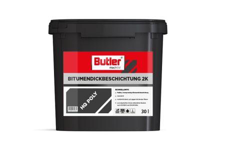Bitumendickbeschichtung 2K HQ poly, 30 l von Butler macht's!