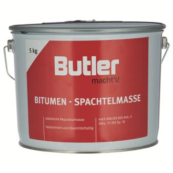 Bitumen-Spachtelmasse lösemittelhaltig 5 kg von Butler macht's!