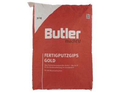 Fertigputzgips Gold 30 kg von Butler macht's!