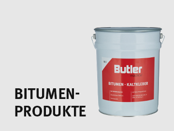 Bitumenprodukte von Butler macht's!