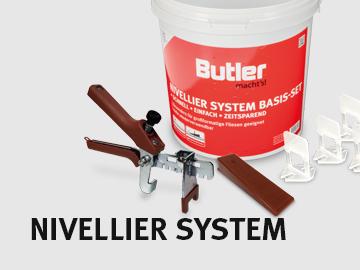 Wasserwaagen von Butler macht's!