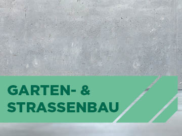 Garten- und Strassenbauprodukte von Bulter macht's!